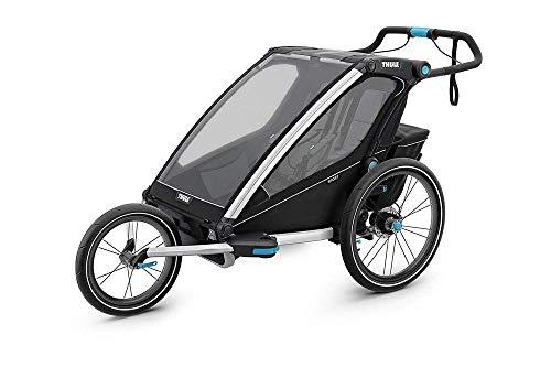 Thule Chariot Sport2, Fahrrad + Spaziergang + Joggen, Schwarz