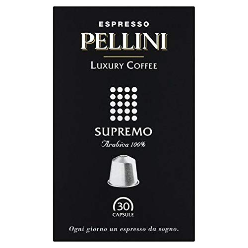 Pellini Luxury Supremo Nespresso Compatible Coffee Capsules 30 per pack
