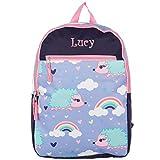 Personalized Dibsies Grab n Go Backpack (Hedgehogs)