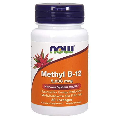 Methyl B-12 (5000mcg) with Folic Acid 60 lzngs