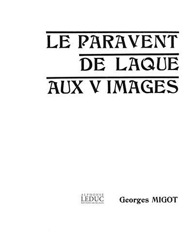 Migot georges paravent de laque aux 5 images in 4 orchestra score