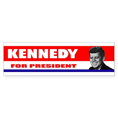 CafePress Kennedy for President 1960 10'x3' Rectangle Bumper Sticker Car Decal