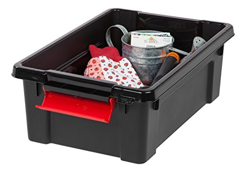 IRIS USA, Inc. SIA-3 IRIS Store-It-All Tote 3 Gallon, 3 GAL, Black 4
