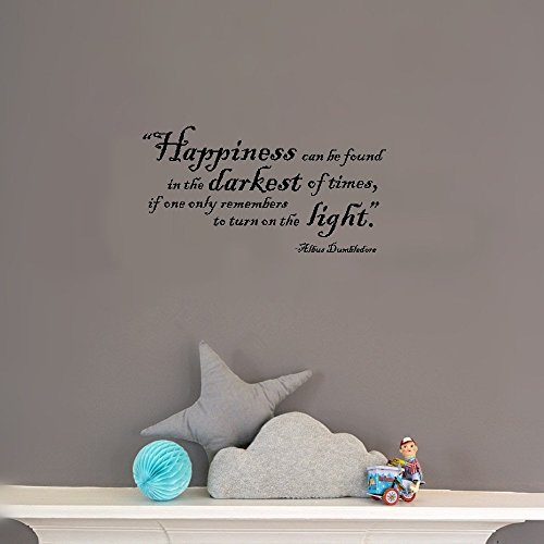 Adhesivo de pared extraíble con cita de arte del hogar, frase de...