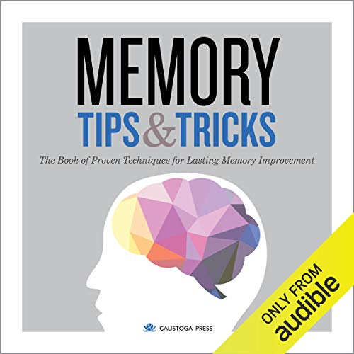 Memory Tips and Tricks audiobook cover art