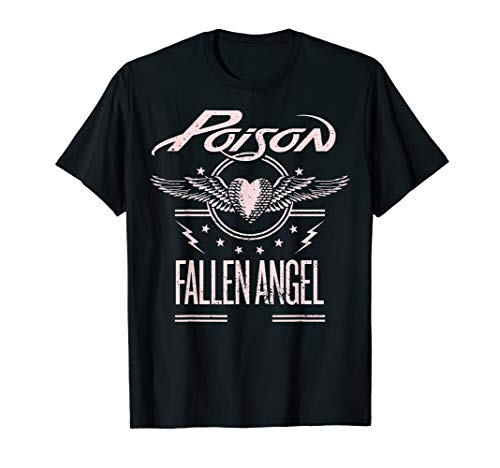 Poison Fallen Angel 1988 Licensed T-Shirt for Men, Women, KIds in 4 Colors, up to 3XL