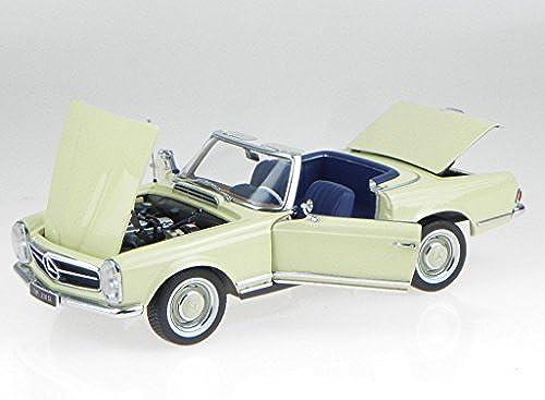 Mercedes W113 230 SL Pagode IAA 1963 beige Modellauto Norev 1 18