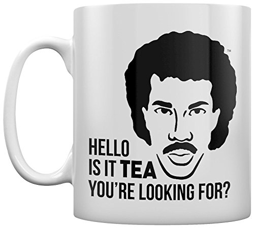 Lionel Richie Is it Tea You're Looking For? Mug White - Officially Licensed