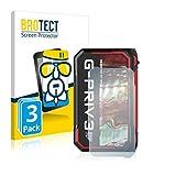 BROTECT Panzerglas Schutzfolie kompatibel mit Smok G-Priv 3 (Rückseite) (3 Stück) - 9H Extrem Kratzfest, Anti-Fingerprint, Ultra-Transparent