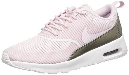 Nike Damen W Air Max Thea Txt Gymnastikschuhe, Violett (Bleached Lilac/Bleached Lilac), 38.5 EU