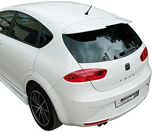 Coche ABS Spoiler para Seat Leon 1P Facelift 2009-2012, Trasero Ala Trasera Maletero Alerón Accesorios Decorativos Instalación Fácil