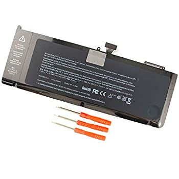 A1321 A1286 Laptop Battery for MacBook Pro 15 Inch Mid 2009 Mid 2010 Replacement for MacBook Pro Battery A1321 A1286 MC371LL/A MC372LL/A MB985 MB986 MC118 77.5WH