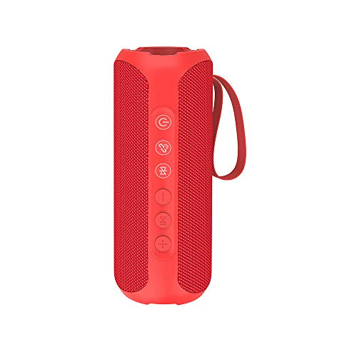 Wharfedale Waterproof Portable Bluetooth Speaker with 20W Stereo Sound, TWS Connection, Built-in Mic, Portable Wireless Speaker for Home and Outdoors
