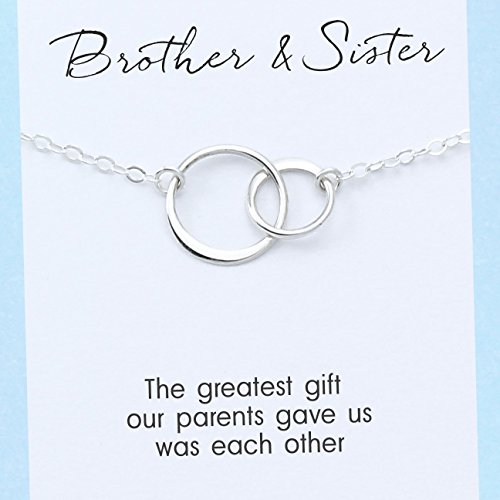 brother sister necklace - 4