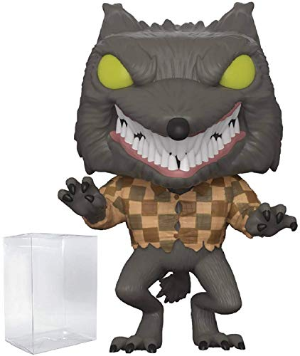 Funko Pop! Disney: The Nightmare Before Christmas - Wolfman Specialty Series Vinyl Figure (Bundled with Pop Box Protector Case)