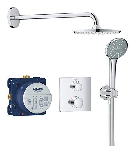 Duschsystem Unterputz mit Rainshower Cosmopolitan 210