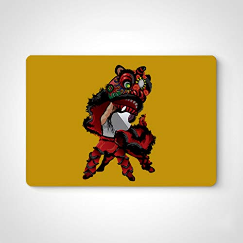 Vinyl Decal Skin A Jumping Chinese Lion p Skin Stickers For Men For Macbook Air 13' Pro 13'/15'/16' 2008-2020 Version p Keyboard Decal Sticker