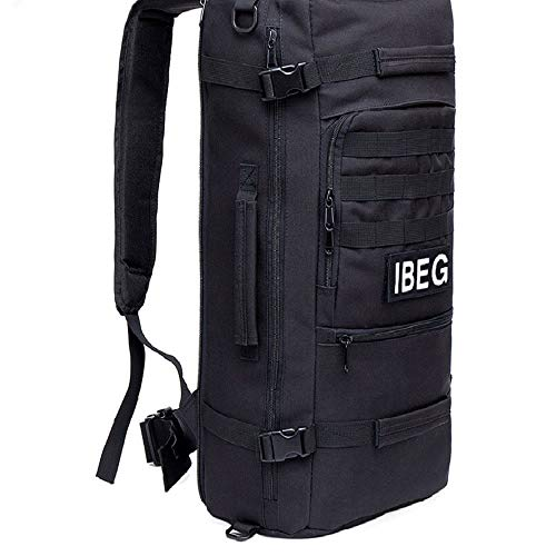 Cool and Best 60L Outdoor Military Tactical Backpack Hiking Camping Pack Travel Shoulder Bag #BHTY