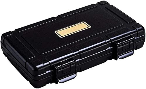 WXking Accesorios para fumar, Caja de humor de cigarro de escritorio Caja de almacenamiento de cigarros, Caja de cigarros Sellado Humidificador de humidificador Caja de cigarrillo Caja decorativa (Col