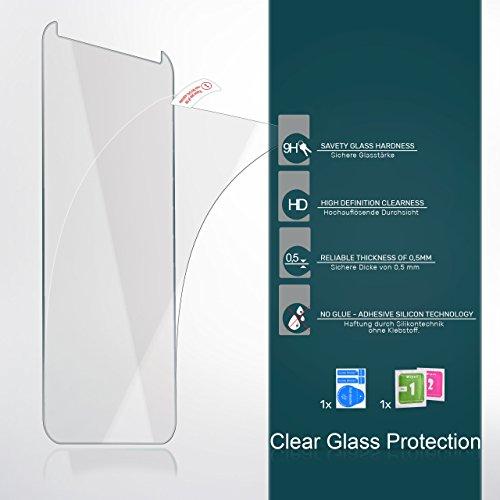 MoEx 9H Panzerfolie für Huawei Y550   Panzerglas Display Glasfolie [Tempered Glass] Screen Protector Glas Displayschutz-Folie für Huawei Ascend Y550 Schutzfolie - 6