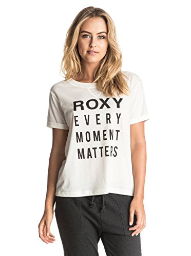 Roxy Minorswingc T-Shirt Femme, Marshmallow, FR (Taille Fabricant : XL)