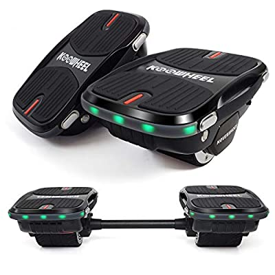 YDS Update Hoverboard Self Balancing Scooter with LED Lights Electric Scooter for Adult Kids Gift UL 2272 Certified (Without Connecting Rod)