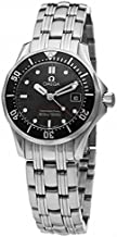 Omega Women's 212.30.28.61.01.001 Seamaster 300M Quartz Black Dial Watch