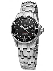 Omega Women's 212.30.28.61.01.001 Seamaster 300M Quartz Black Dial Watch image