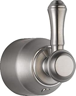 Delta Faucet H597SS Cassidy Single Lever Bath Diverter/Transfer Valve Handle Kit, Stainless, 3.50 x 3.00 x 3.50 inches