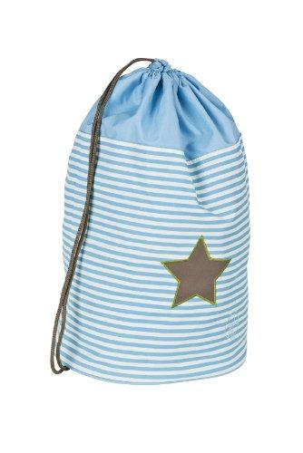 LÄSSIG Kinder Sporttasche Mädchen Junge Schule Kindergarten Sportbeutel Seesack / School Sportsbag, Starlight olive