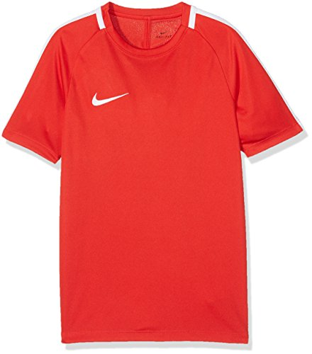 Nike Kids Y NK Dry Acdmy SS Academy T shirt Red University RedWhite 14 Years Manufacturer Size XL