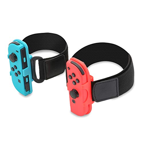 Accessories for Ring Fit Adventure Switch, Leg Strap for Switch Ring Fit Adventure and Wrist Band for Switch Dance 2019 2020 2018
