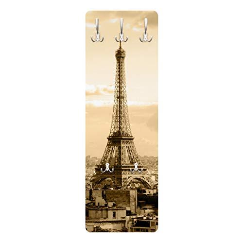Perchero - I Love Paris 139x46x2cm, percheros, Perchero de Pared, Perchero Pared, percheros Pared, percheros Modernos