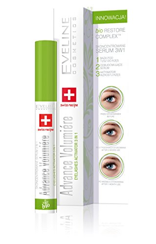 Eveline Cosmetics Advance Volumiere Eyelashes Activator Serum skoncentrowane do rzęs 3w1 10ml