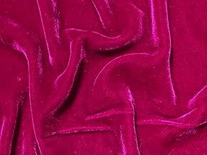 Best berry velvet fabric Reviews
