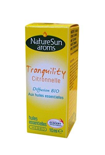 Naturesun aroms - Mélange Diffusion Moustiques Bio - Flacon 10 ml