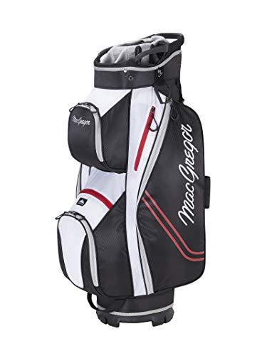 MacGregor Golf MACBAG137 Response ZT Lite 10' inch Golf Club Cart Bag, Black