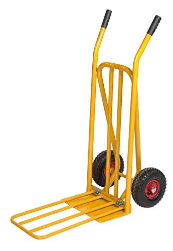 Lagerino Gepäck- & Sackkarre, 920x480x1170 mm, 250 kg Tragfähigkeit, Gelb