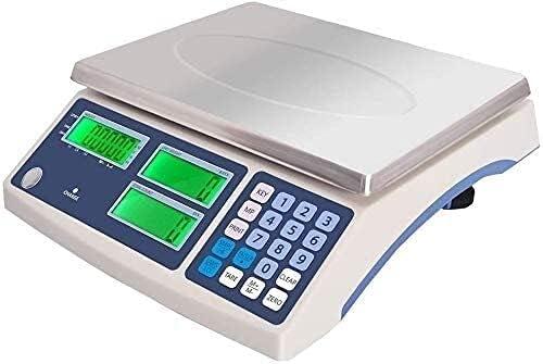 BUYAOBIAOXL balanza Cocina Peso Cocina Escala Digital 1g / 30kg Scale De Conteo Industrial De Alta Precisión De Alta Precisión Escalas De Pesaje Multifunción Electrónica Digital For Cocina De Cocina