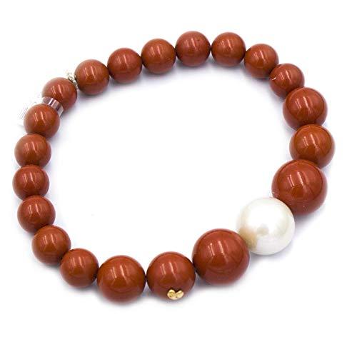 Miluna Bracciale PBR2567- Corallo e Perla