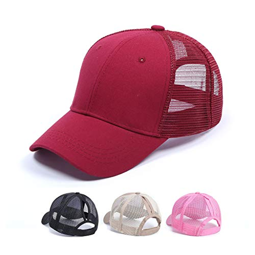 CheChury Gorra de Béisbol Casual Hats Hip-Hop Sombrero para Mujer Tenis Deporte...