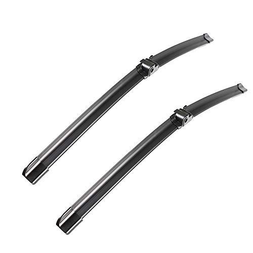 2 wiper Factory for Mercedes W211 E Class 2003-2009 SL Class SL500 SL55 SL550 SL600 2003-2012 C219 CLS Class 2006-2011 Front Wiper Blade Set - 26