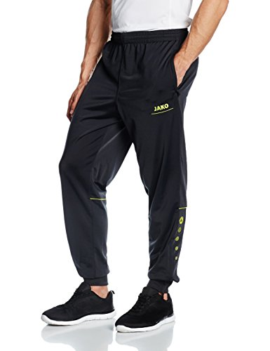 JAKO Trainingshose Polyesterhose Striker, anthrazit/lime, S