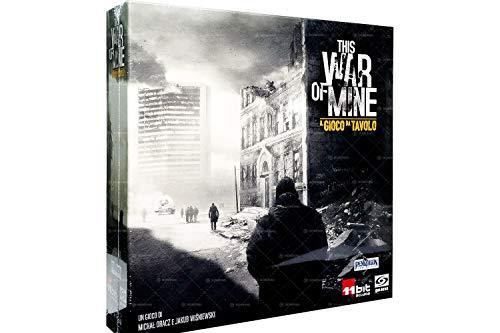 Asmodee - This War of Mine, Gioco da Tavolo Pendragon Game Studio, Edizione in Italiano, 0495