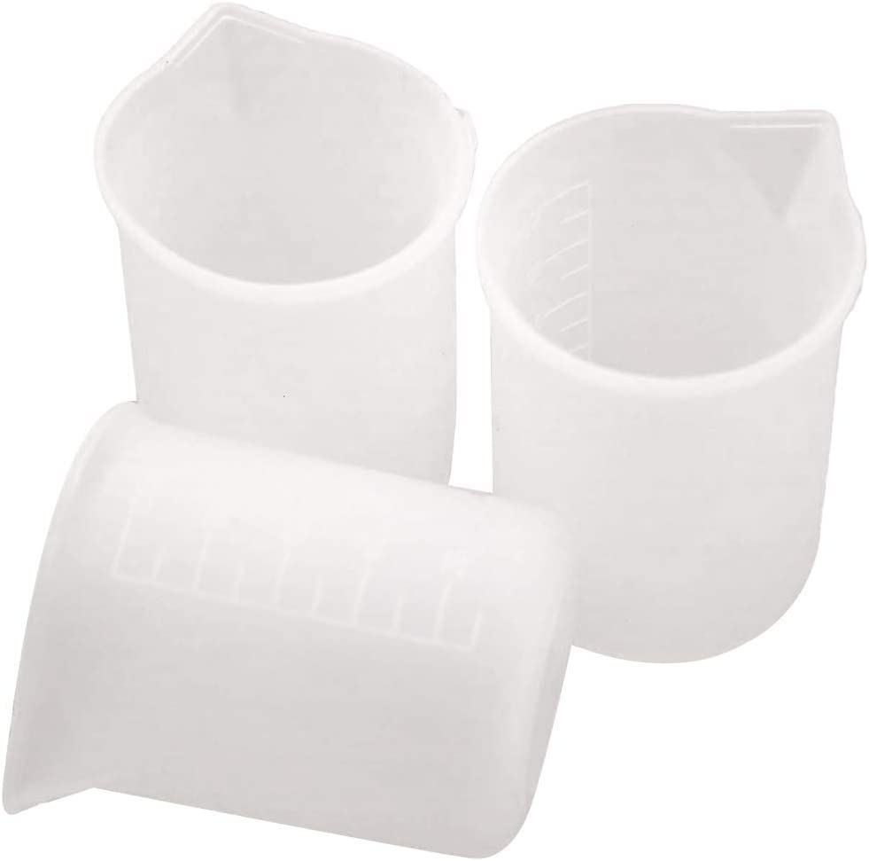 Shipping Store included Silicone measuring cups for resin. pcs glue 3 making jewelry