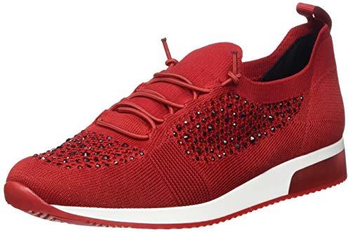 ARA Women's Low-Top Sneaker, Red 05, 11