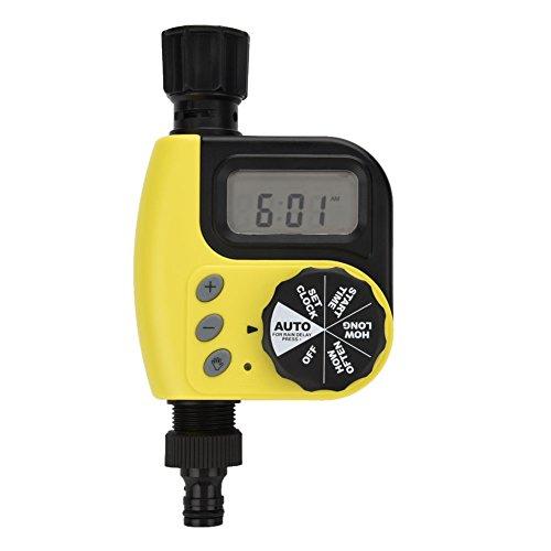 Fdit Regulador automático sistema de riego temporizador electrónico automático de jardín regar...