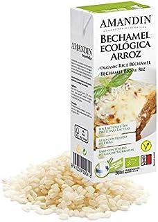 Amandin Bechamel Ecológica Arroz 200 Ml.* 200 ml: Amazon.es: Alimentación y bebidas