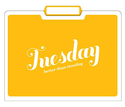 Knock Knock Days of the Week File Folders Set, Daily / Weekly Organizer Files (Set of 6, 11.5 x 9-inches) Photo #9