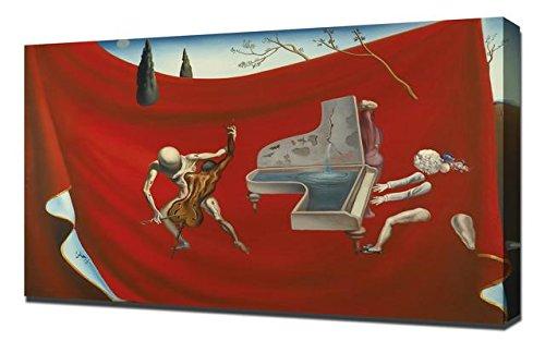 Lilarama Salvador Dali Music The Red Orchestra - Canvas Art Print Reproduction